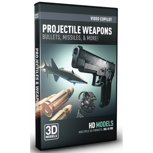 Video Copilot Projectile Weapons