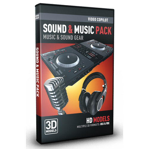 Video Copilot Sounds & Music Pack: Music & Sound Gear