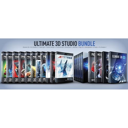 Video Copilot Ultimate 3D Studio Bundle (Download)
