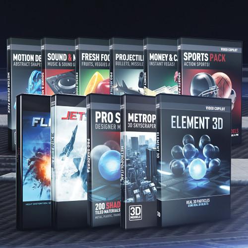 video copilot motion design pack free download mac