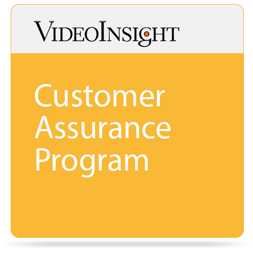 Video Insight Customer Assurance Program (1-Year)