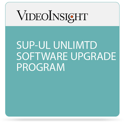 Video Insight Software Upgrade Program (Unlimited)