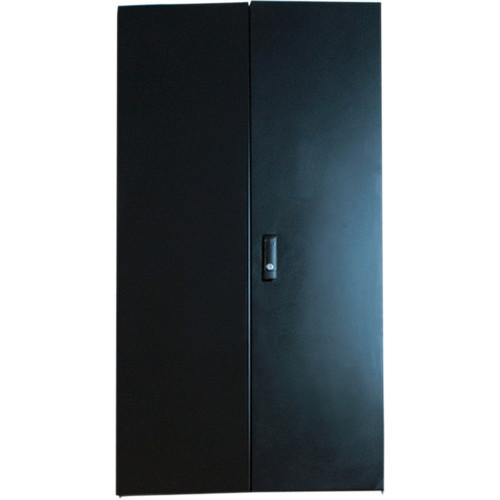 Video Mount Products Double Swing Solid Steel Door (18-Space)