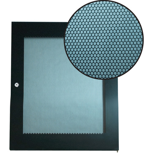 Video Mount Products Perforated Steel Door for 6 RU Rack Enclosure