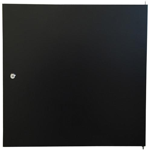 Video Mount Products Solid Steel Door for 9 RU Rack Enclosure