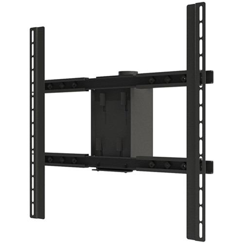 """Video Mount Products PDS-LCHB Large Flat Panel Ceiling Mount Head for 37 to 80"""" Flat Panel Displays (Black)"""