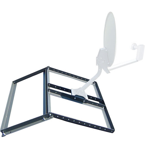 "Video Mount Products Non-Penetrating Pitched Roof Mount for 18/24"" DBS/DSS Antenna"