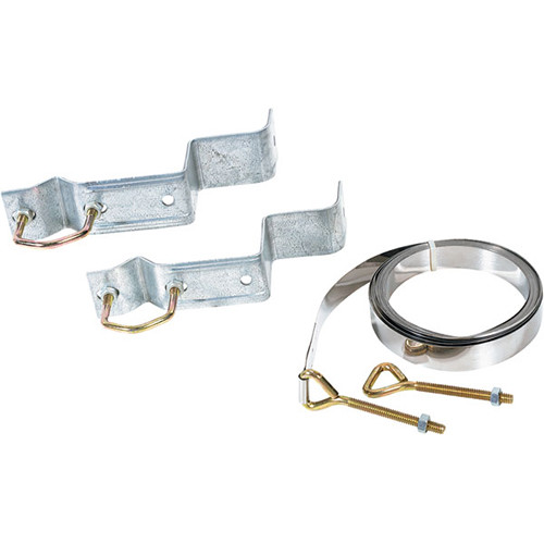 """Video Mount Products Z-Type Chimney Mount for 1.25 to 1.66"""" Antenna / DBS Pipe (Pair)"""