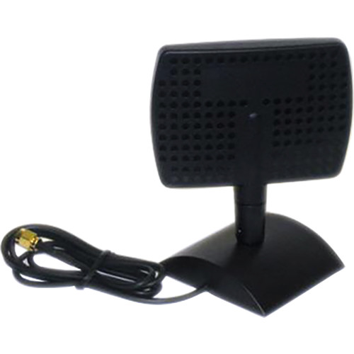VideoComm Technologies 2.4 and 5.8 GHz Dual Band 5 and 8 dB SMA-Male Desktop Directional Antenna