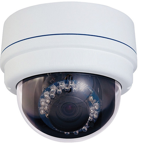 VideoComm Technologies CCD-700SR50 Outdoor Vandal-Resistant IR Dome Camera with 2.8 to 12mm Lens (NTSC)