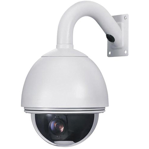 VideoComm Technologies CX-480PTZ 480 TVL All Weather PTZ Camera with 4 to 38mm Varifocal Lens (NTSC)