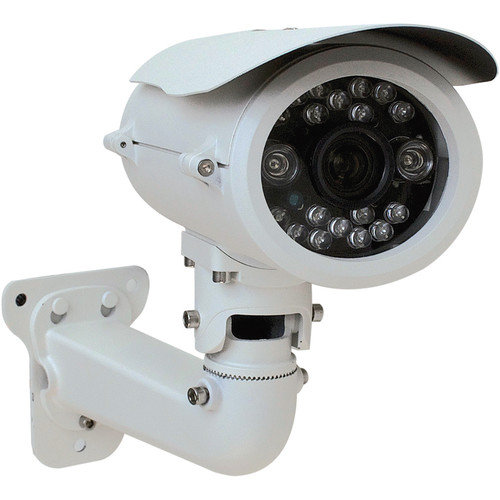VideoComm Technologies IPC-2MPSR120 2MP H.264 All-Weather IR Network Bullet Camera with 6 to 22mm Lens and Remote Motorized Zoom & Focus