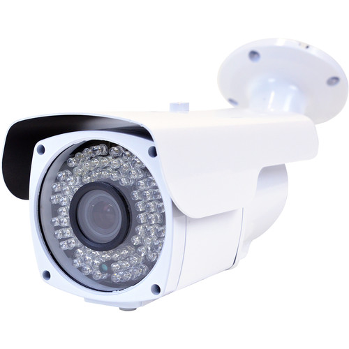 VideoComm Technologies IPC-2MPSR130 2MP All-Weather IR Network Bullet Camera with PoE and 9 to 22mm Varifocal Lens