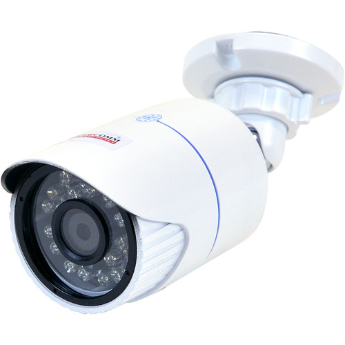 VideoComm Technologies PRO-Series 2MP Outdoor Day/Night 4mm Fixed Lens IR PoE Network Bullet Camera