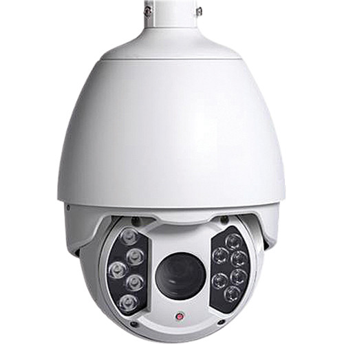 VideoComm Technologies IPC-2MPTZ400 2MP H.264 All Weather PTZ IR Camera with 4.7 to 94mm Varifocal Lens