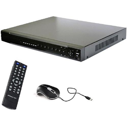 VideoComm Technologies NVR-24CH144 PRO-Series 24-Channel 1080p 144 Mb/s H.264 NVR