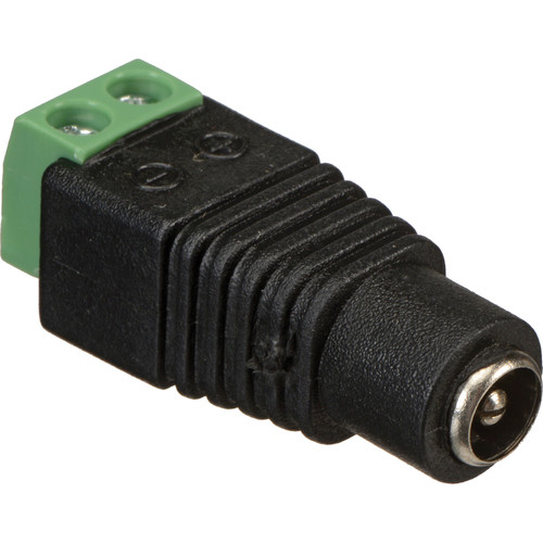 VideoComm Technologies 2.1mm DC Female Power Jack Connector with Screw Terminals (10-Pack)