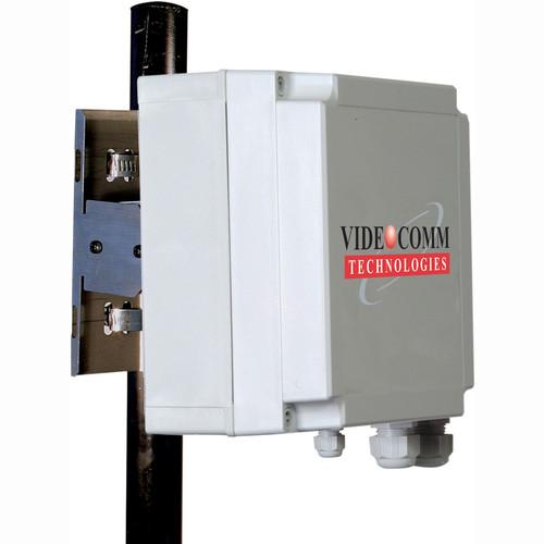 VideoComm Technologies RXO-5808Q4 5.8GHz FM Live All-Weather 8-Channel 14dB Gain Receiver