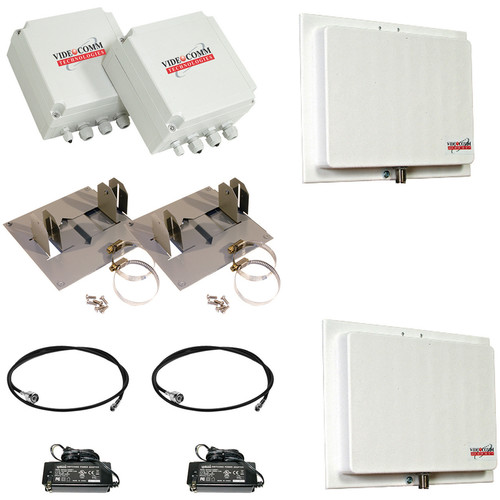 VideoComm Technologies TCO-2409QX10 2.4 GHz Digital FHSS All-Weather 9-Channel D1 Transmitter & Receiver Kit (10 mi)