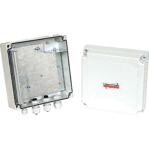 VideoComm Technologies IP-67 All-Weather Enclosure Internal Mount Plate with Mounting Bracket