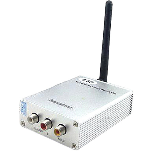 VideoComm Technologies TX-5808 5.8 GHz FM-Live Desktop 8-Channel Transmitter