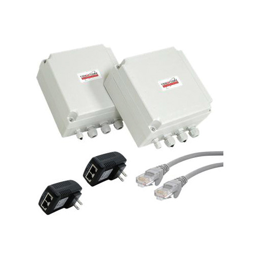 VideoComm Technologies 802.11b/g/n 300 Mb/s All-Weather Network Bridge (3500' Range)