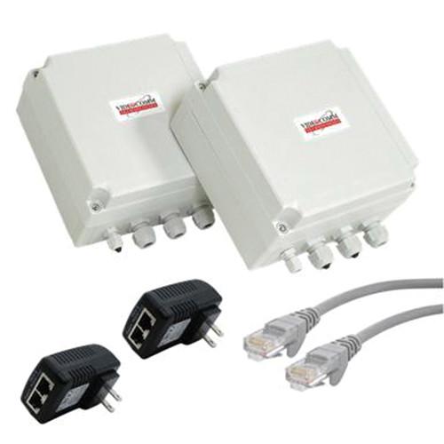VideoComm Technologies 802.11a/n 300 Mb/s All-Weather Hybrid Network Bridge (2500' Range)