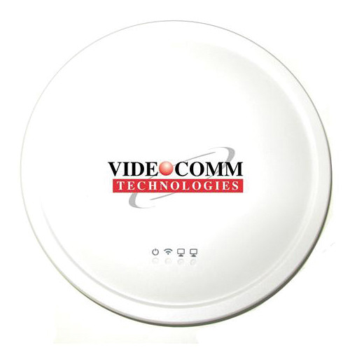VideoComm Technologies 2.4 GHz Ceiling-Mount Omni-Directional Video Network Station (White)