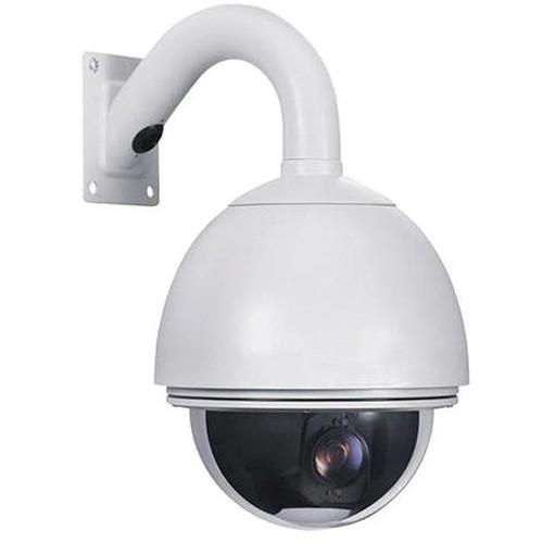 VideoComm Technologies ZX-480PTZXR6 2.4 GHz FHSS 480 TVL Weatherproof Wireless PTZ Dome Camera Kit (NTSC)