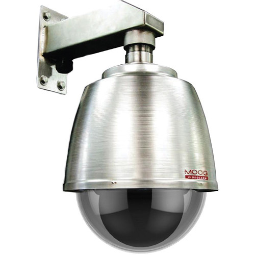 Videolarm Fusion Stainless Steel Dome (with Sunshield)