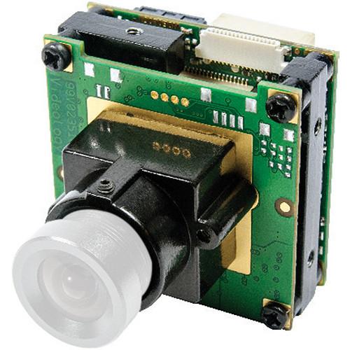 Videology 5MP Monochrome Network Board Camera (M-12 Pinhole Mount)