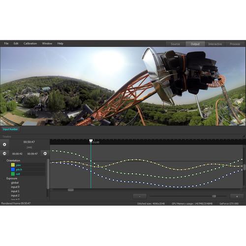 VideoStitch Studio v2 VR Video Stitching Software (Download)