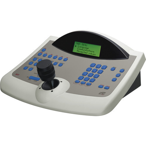 Videotec Matrix and Telemetry Control Keyboard with Three-Axis Joystick