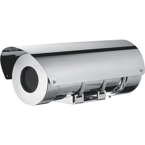 Videotec Stainless Steel MHX Housing with Sunshield (24 VAC)