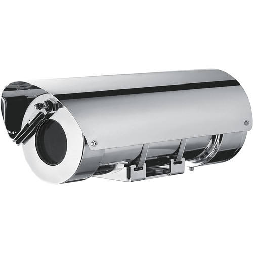 Videotec Stainless Steel MHX Housing with Wiper and Sunshield (24 VAC)