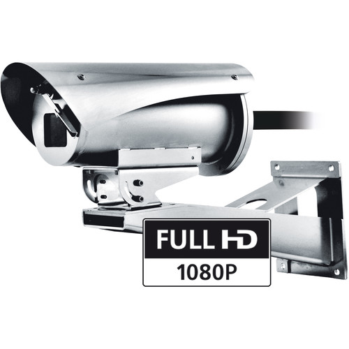 Videotec MAXIMUS MVXHD 1080p Explosion-Proof Outdoor Bullet Camera with 4.3-129mm Lens & Integrated Wiper