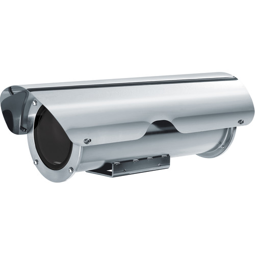 Videotec Stainless Steel Hi-PoE Camera Housing with Sunshield