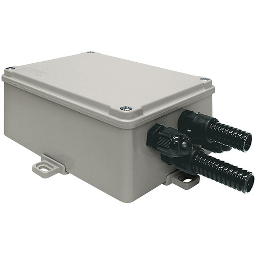 Videotec Wide-Range Power Supply in Weatherproof Box for Select 100-240 VAC Input/12 VDC Output Cameras