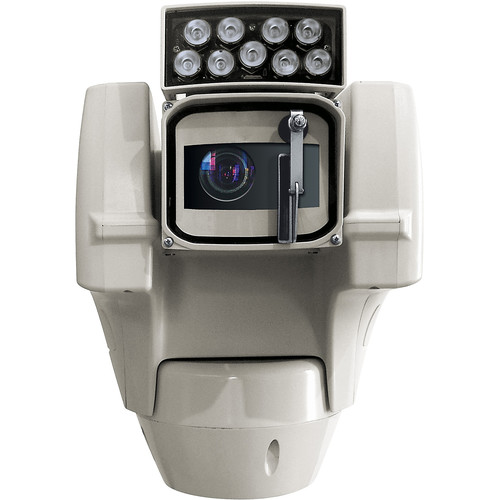 Videotec Ulisse Compact Delux 1080p Network PTZ Camera with Night Vision and 10 IR LED Illuminator (120 VAC)