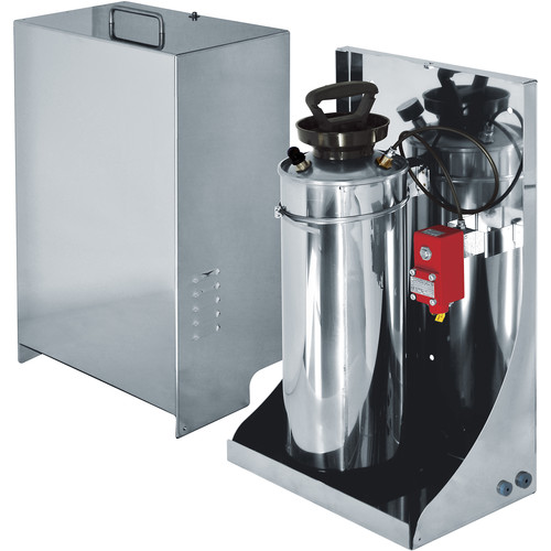 Videotec WASEX 10L Water Tank & Pump with Explosion-Proof Solenoid Valve for MAXIMUS Housings