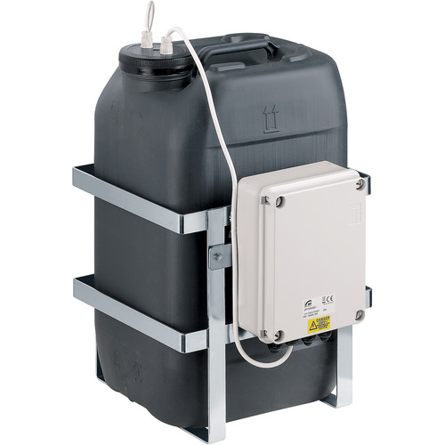 Videotec WASPT Water Tank with Pump for PTZ & Camera Housings with Wiper (23L, Up to 16' Delivery, Telemetry Controllable)