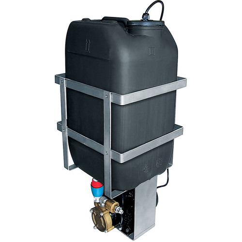 Videotec WASPT Water Tank with Pump for PTZ & Camera Housings with Wiper (23L, Up to 98' Delivery, Telemetry Controllable)