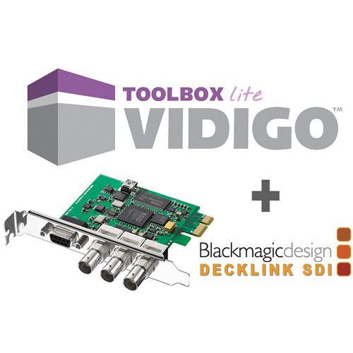 VidiGo Toolbox LITE DeckLink SDI Bundle
