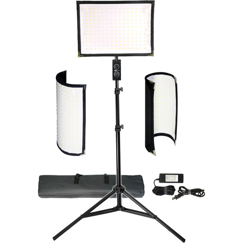 Vidpro FL-180 Flexible Vari-Color LED Light Panel Kit