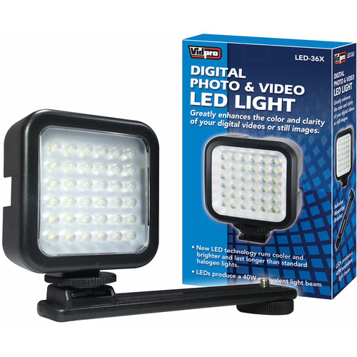 Vidpro LED-36X Photo & Video On-Camera LED Light