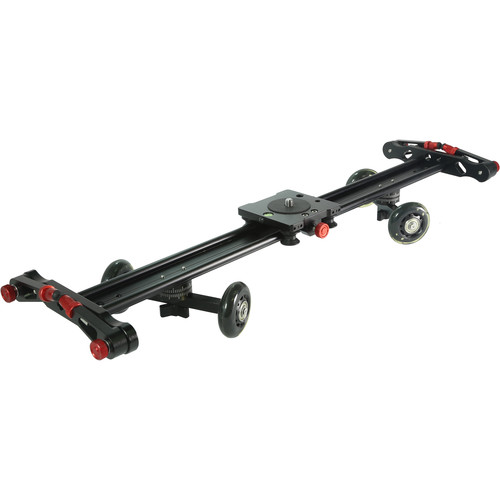 "Vidpro Linear Track Slider and Skater Dolly Combo (24"")"