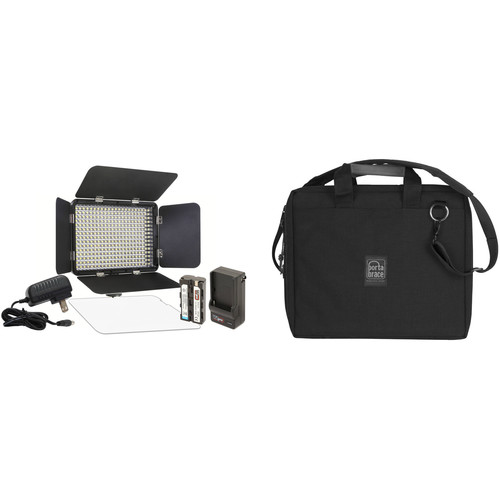 Vidpro LED-330X Variable Color On-Camera LED Light Kit with Soft-Sided Case