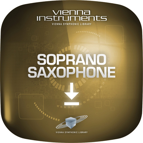 Vienna Symphonic Library Soprano Saxophone - Vienna Instrument (Standard Library, Download)