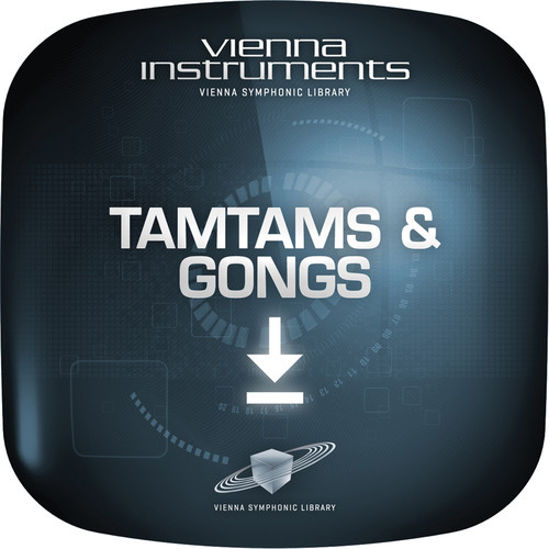 Vienna Symphonic Library Tamtams & Gongs - Vienna Instruments (Standard Library, Download)