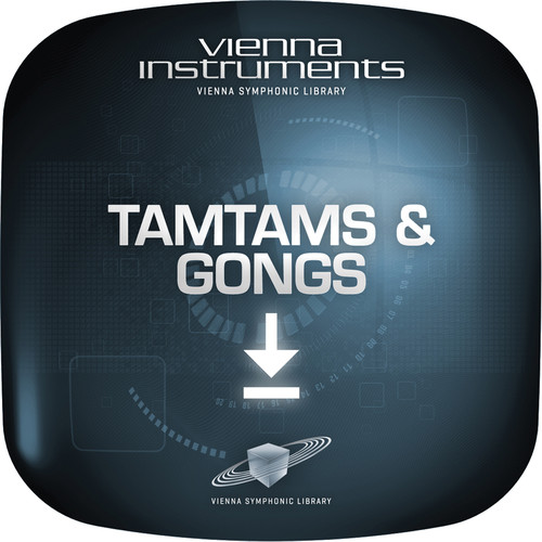 Vienna Symphonic Library Tamtams & Gongs Upgrade to Full Library - Vienna Instruments (Download)